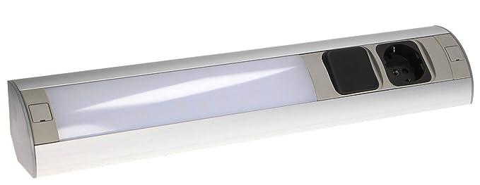 Enchufe con interruptor LED, para muebles, cocina, enchufe base, enchufe  montaje