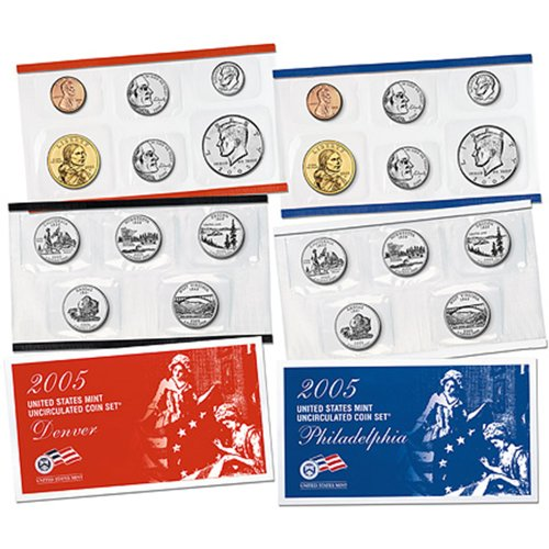 int Uncirculated Coin Set (U05) in Original Government Packaging (Westward Journey Nickels)