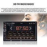 Hikity Autoradio Car Stereo Double Din 7 Inch HD