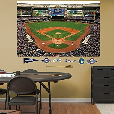 MLB Milwaukee Brewers Inside Miller Park Mural Wall Graphics