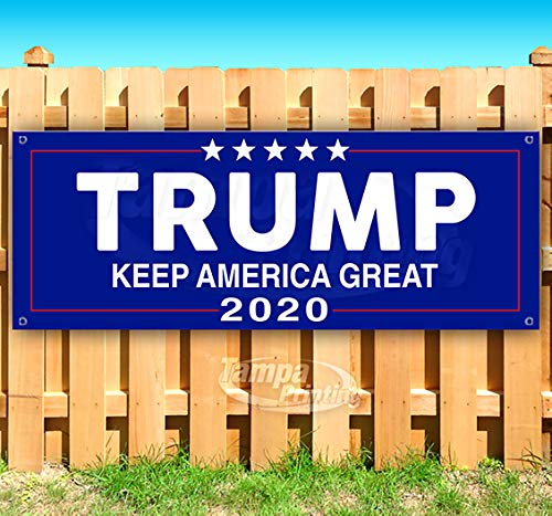 TRUMP KEEP AMERICA GREAT 2020 Advertising Vinyl Banner Flag Sign Many Sizes