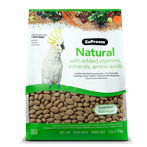 ZuPreem Natural Large Bird 3 Pound product image