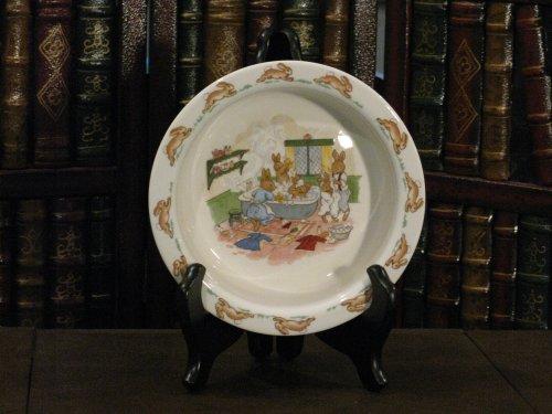 Royal Albert Bunnykins Nurseryware Baby China Plate/Bowl Factory Second