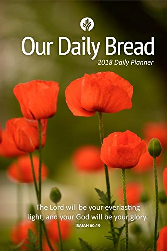 Our Daily Bread 2018 Daily Planner (Calendar For The Month Of December 2014)