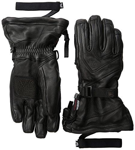 Gordini Men's All Mountain Gloves, Black, X-Large