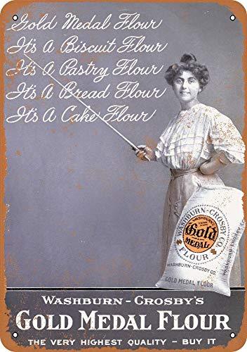- Tamengi 1910 Gold Medal Flour Vintage Look 8