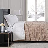 Christian Siriano Reversible Faux Fur Queen Comforter in Natural