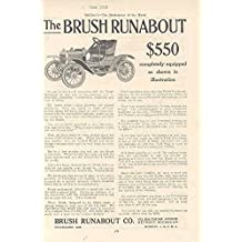 1909 Brush Runabout Ad Harrington & Richardson Pistol