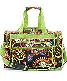 Snowflake Designs Green Monkey Duffel Bag