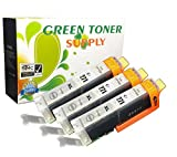 Green Toner Supply (TM) New Compatible Canon CLI271XL 3 Gray Inkjet Cartridge