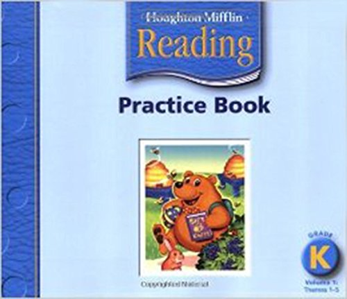 Houghton Mifflin Reading: Practice Book, Volume 1 Grade K ebook
