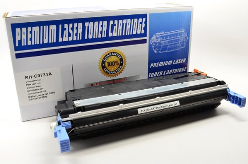 NEW Canon Compatible C9731A TONER CARTRIDGE (CYAN) For LBP-5800 (Toner/Cartridges) by Canon, Hewlett Packard