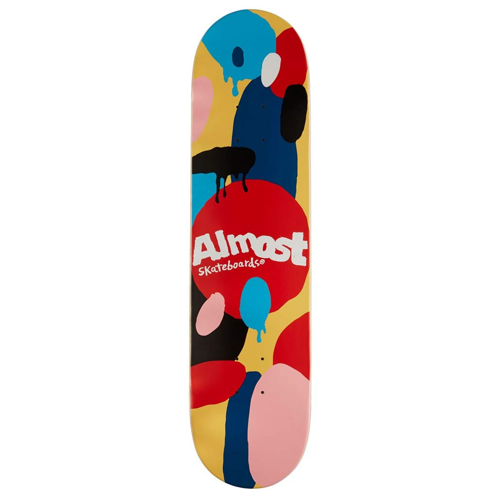 Almost Skateboard Deck Spotted Impact Cream 7 75