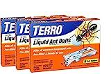 TERRO PreFilled Liquid Ant Killer II Baits 3-Packs of 6 Baits Each