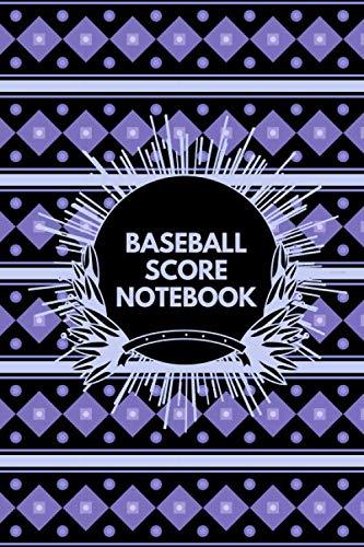 Baseball Score Notebook: Baseball Score Sheets, Baseball Score Pads, Scorekeeping Book, Scorecards, Record Scorekeeper Book Gifts for Baseball Team, ... with 110 Pages. (Baseball Scorebook)