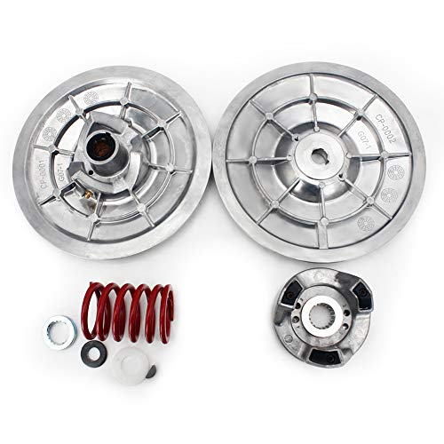 (TARAZON Heavy Duty Rear Driven Clutch Kit Secondary Clutch for Yamaha Golf Cart G2 G8 G9 G11 G14 G16 G20 G21 G22 G28 1985-2006)