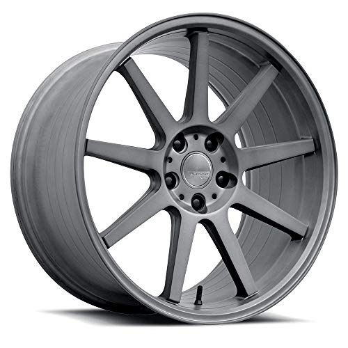 Verde Form VFF02 Brushed Dark Palladium Wheel (20 x 8.5 inches /5 x 112 mm, 40 mm Offset)