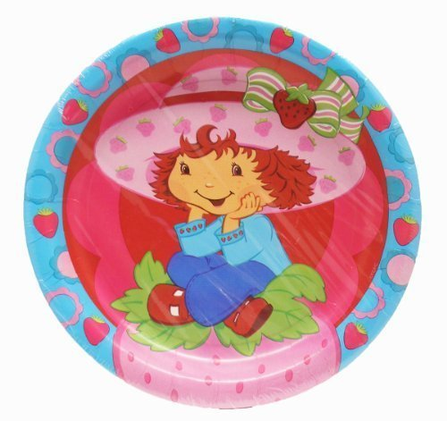 Strawberry Shortcake Best Friends Party Lunch Plates by American Greetings