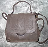 Jennifer Lopez Greta Flap Cross-body Handbag (Chocolate), Bags Central