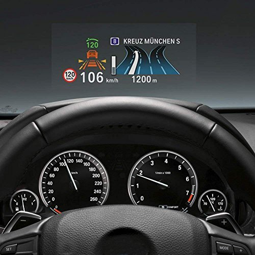 WONFAST Universal Premium HD Head Up Display (HUD) Reflective Screen Film (Premium Head)
