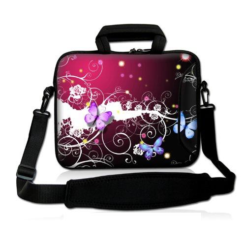 "PK Butterfly 9.7"" 10"" 10.2"" inch Laptop Netbook Tablet Shoul"