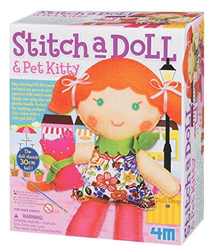 4M Stitch Doll Pet Kitty
