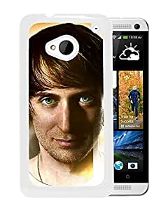 Beautiful Designed Cover Case With David Guetta Face Look Eyes Graphics (2) For HTC ONE M7 Phone Case