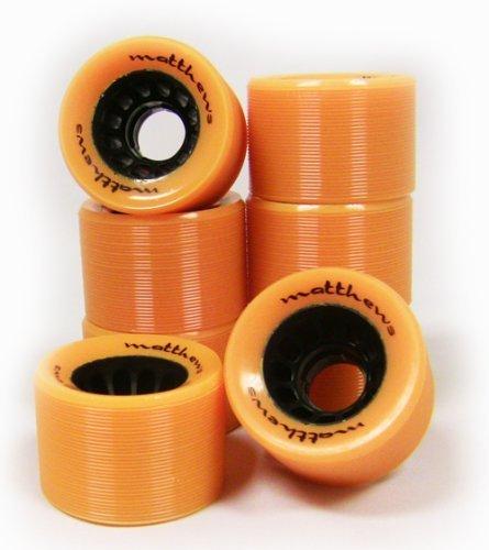 TGM Skateboards Roller Skate Wheels 8-Pack 62Mm X 42Mm 95A Indoor Quad /...