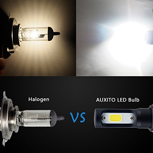 AUXITO-Automobile-9005-LED-Headlight-Bulbs-All-in-One-Conversion-Kit-6500K-Cool-White-72W-8000Lms-Per-Pair-New-Version-with-US-COB-LED-Chips-Super-Bright