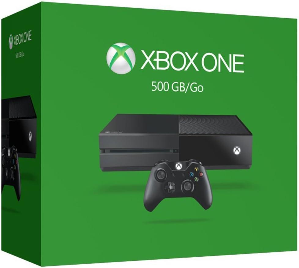 Microsoft Xbox One 500GB Wifi Negro - Videoconsolas (Xbox One ...