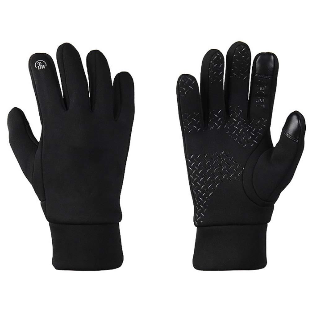 Unisex Outdoor Gloves Windproof Touchscreen Cycling (Size : M) LIUSHUAISHUAI