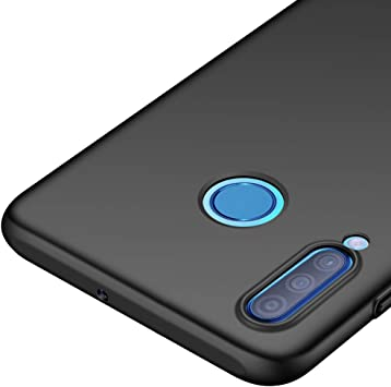 Richgle Funda Huawei P30 Lite, Negro Ultra Slim Protectora Funda ...
