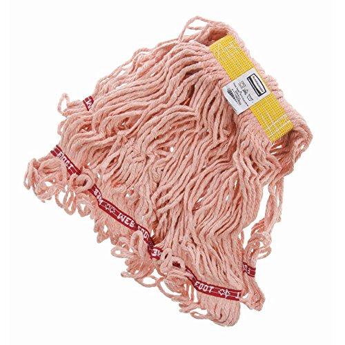 Rubbermaid 12 oz Orange Web Foot Mop Head with 1