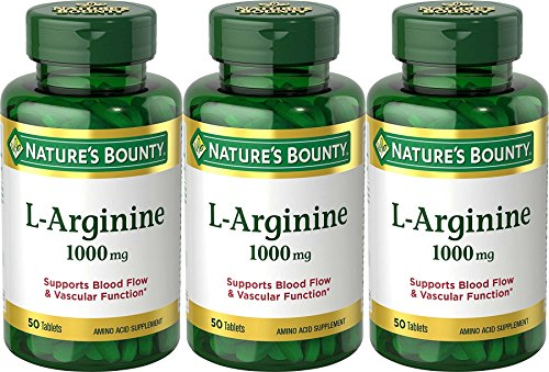 Nature's Bounty L Arginine 1000 mg, 50 Tablets