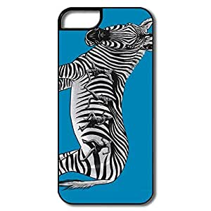 PTCY IPhone 5/5s Customize Vintage Zebra Stripes