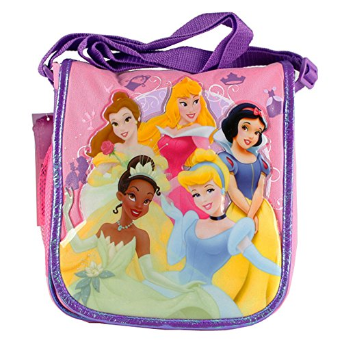 Princess Insulated Lunch Tote Featuring Cinderella, Snow White, Belle, Tiana, and Sleeping Beauty (Bag Snow White Sleeping)