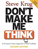 Don't Make Me Think, Steve Krug, 0321344758