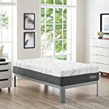 Modway Elysse 12 Twin Cooling Hybrid Mattress - CertiPUR-US Certified Memory Foam - Individually Encased Coils - 10-Year Warranty
