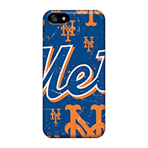 Hot Fashion NXh1390bTyI Design Case Cover For Iphone 5/5s Protective Case (new York Mets)