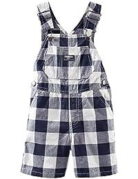 Oshkosh Baby Boys Striped Overalls - (Size - 9 Months)