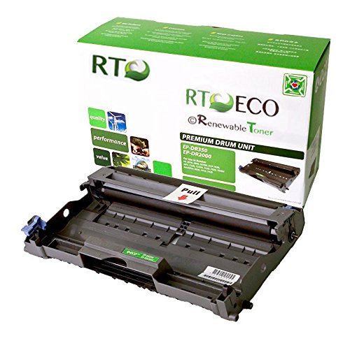 Renewable Toner Compatible Drum Cartridge Replacement for Brother DR350 DR-350 DCP-7020 MFC-7220 7225 7420 7820 IntelliFax 2820 2850 2910 2920 HL-2040 2070 ()
