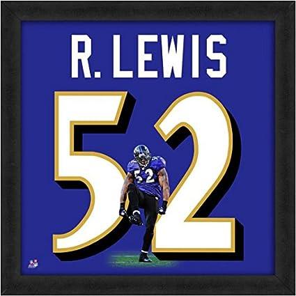 sports shoes 2ba5e b3a88 Amazon.com: Baltimore Ravens Ray Lewis #52 Players Jersey ...