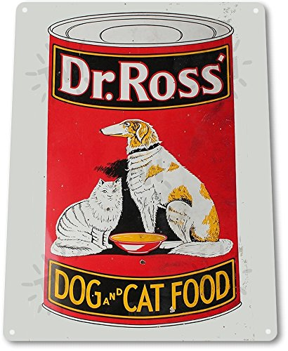 tin-sign-dr-ross-dog-and-cat-food-decor-art-kitchen-cottage-farm-store-a343