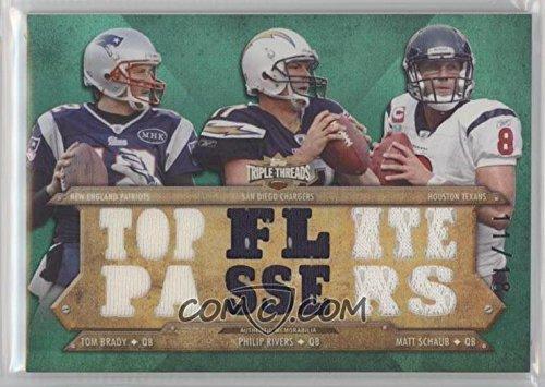 2012 Topps Triple Threads – Relic Combos – エメラルド# ttrc-23 Tom Brady # 11 / 18