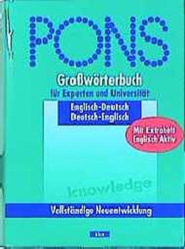 pons-grosswrterbuch-pons-grosswrterbuch-fr-experten-und-universitt-englisch-m-beiheft