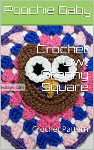 Crochet Owl Granny Square: Crochet Pattern