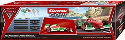 Carrera Go Disney Cars 2 Francesco Bernoulli Extension Set