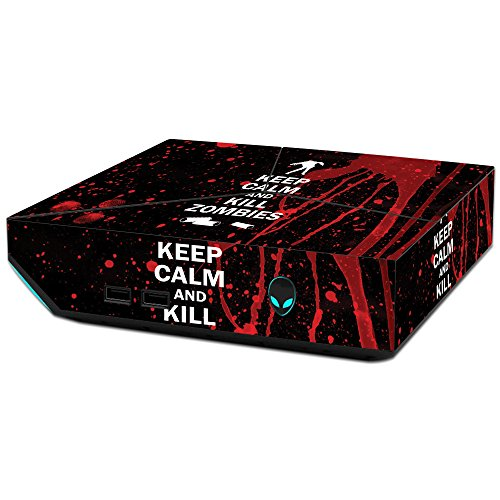 MightySkins Skin Compatible with Alienware Steam Machine - Kill Zombies | Protective, Durable, and Unique Vinyl Decal wrap Cover | Easy to Apply, Remove, and Change Styles | Made in The USA