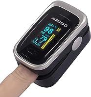 OIOSEN 4 en 1 Oxímetro de Pulso de Dedo, Monitor de frecuencia respiratoria y saturación de oxígeno en Sangre Aprobado...