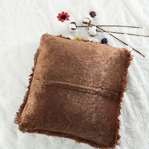 Amazon.com: PiccoCasa - Funda de cojín decorativa para sofá ...
